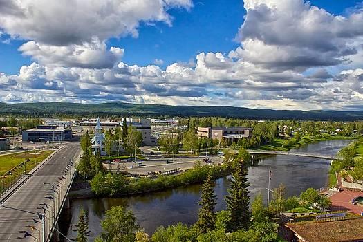 Fairbanks Alaska The Golden Heart City 2014 by Michael Rogers