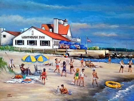 Fairchild Clan' Cape Cod Beach by Philip Corley