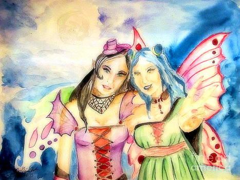 Fairies' Glow by Gina Hyde