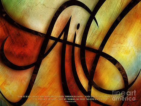 Faith Abstract - Verse by Shevon Johnson