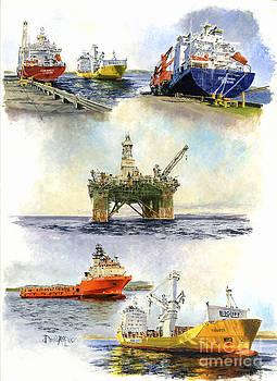 Falkland Montage II by David McEwen