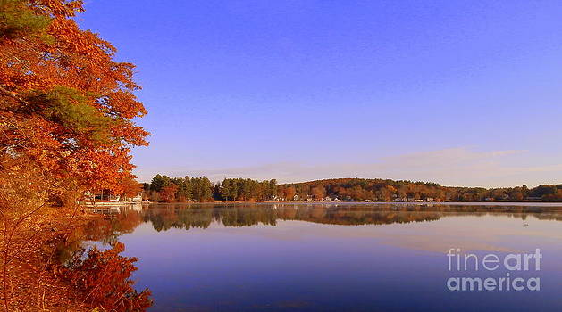 Fall At Beaver Lake by Eunice Miller