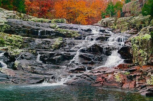 Fall at Black Falls by Larry Bodinson