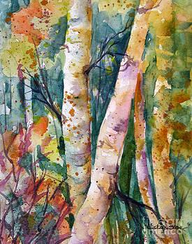 Fall Birch by Betsy Bear