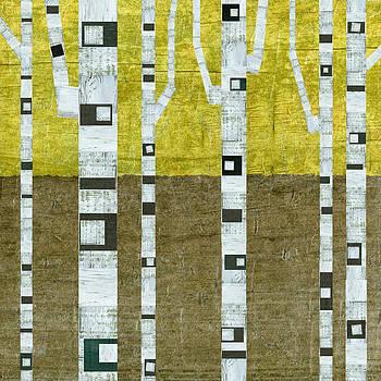 Michelle Calkins - Fall Birches