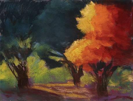 Fall Drama by Jennifer Robin