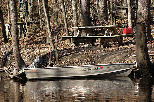 Fall Fishing Camp by Steph Maxson