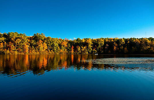 Fall Fishing by Robert L Jackson