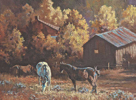 Fall Forage by Mia DeLode