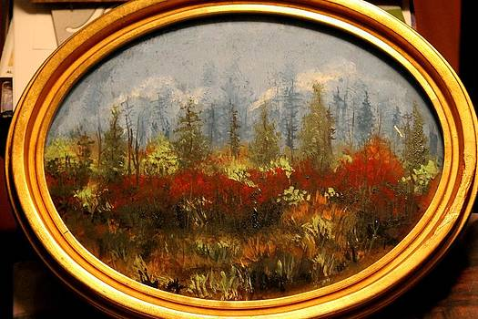Fall Forest by Marcia Crispino