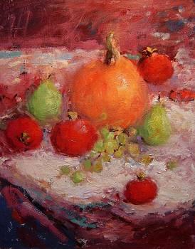 Fall fruit family portrait by R W Goetting