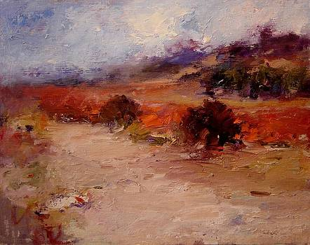Fall in Paso Robles by R W Goetting