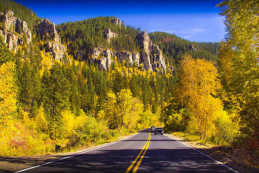 Fall in the Canyon by Evan Ludes