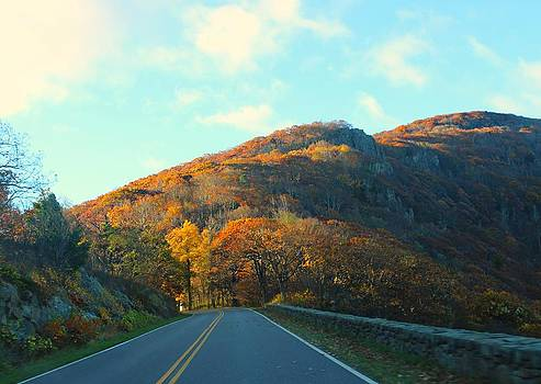 Fall Mountain Road by Candice Trimble