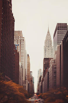 Fall on 42nd Street by Irene Suchocki
