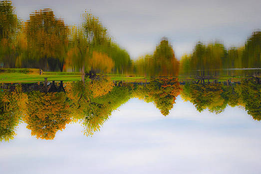 Fall Pond by Ken Rutledge