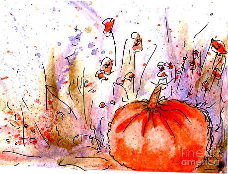 Claire Bull - Fall Pumpkin