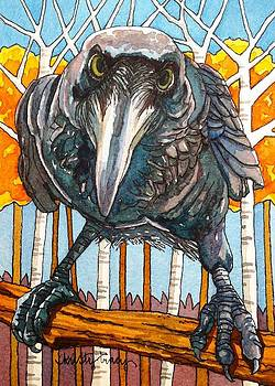 Fall Raven by Kristy Tracy