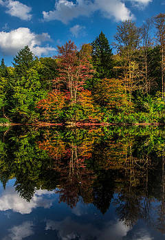 Fall Reflections by Anthony Thomas