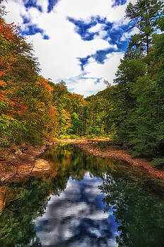 Fall Reflections by Heather Bridenstine