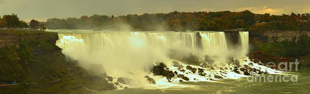 Adam Jewell - Fall Storms Over American Falls Panorama