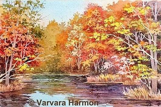 Fall Trees by Varvara Harmon