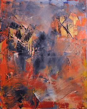 Fall Woods by Leana Gadbois-Sills
