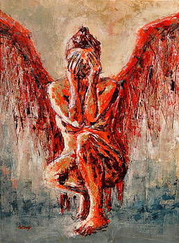 Fallen Angel I. by Beata Belanszky-Demko