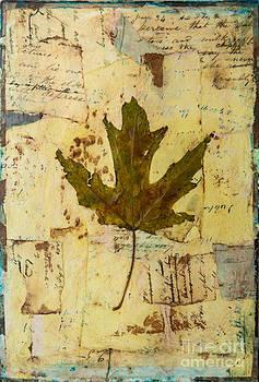 Fallen Leaf two by Sandra Dawson
