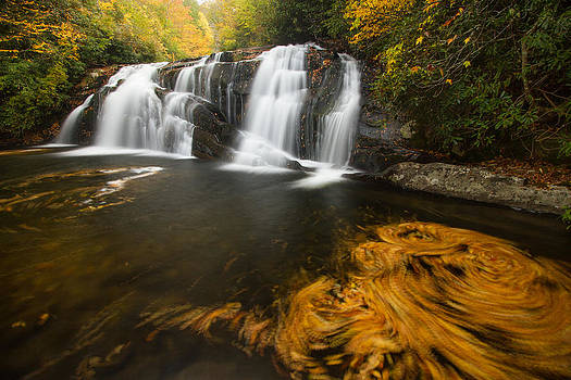 Autumn Waterfall by Doug McPherson