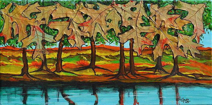 Falling Leaves by Jorge Parellada