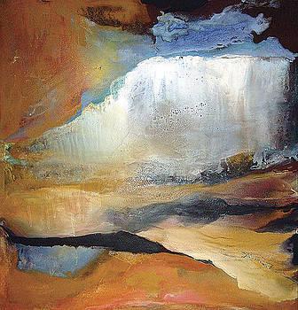 Falling Sky Ice Mountain by Carolyn Goodridge