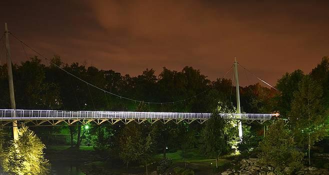 Falls Bridge by Jeff  Bjune