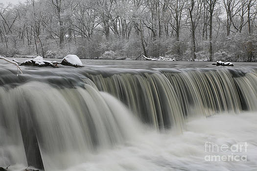 Falls in Winter by Timothy Johnson