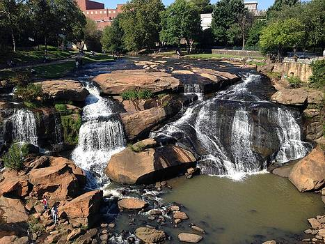 Falls Park on the Reddy by Alyson Innes