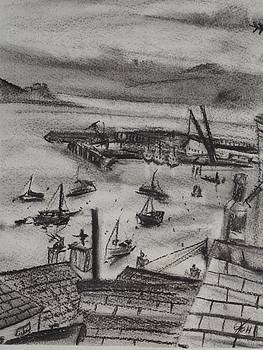 Falmouth Docks 3 by Matt Swann