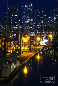 False Creek Marina by Andrew Dobrzanski