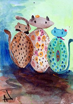 Patricia Lazaro - Family Cats
