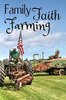 Family Faith Farming Deere by Heather Allen