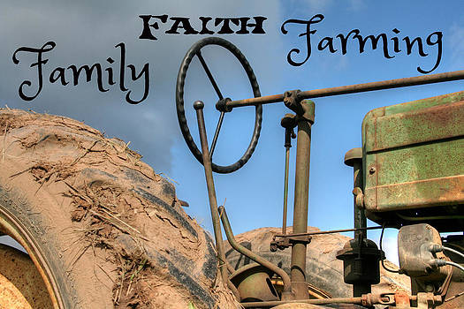 Family Faith Farming Tractor by Heather Allen