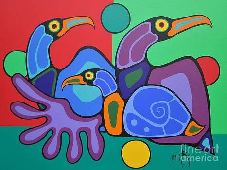 Family by Jim Oskineegish
