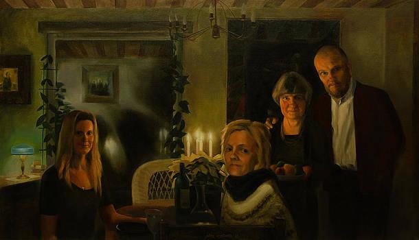 Family Portrait by Jukka Nopsanen