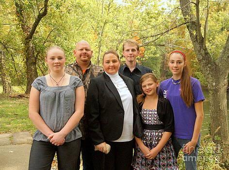 Family portrait by Michelle Cawthon