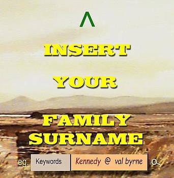 Val Byrne - FAMILY SURNAME