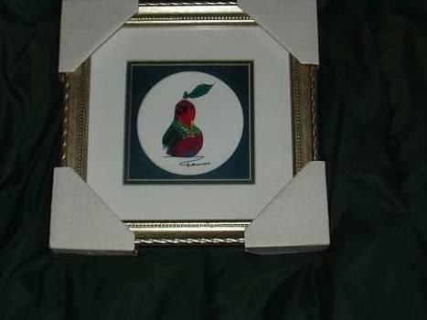 Famous Pear Art by John Pavon