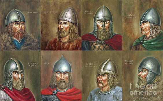 Famous Vikings by Arturas Slapsys