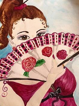 Fan Flirt by  Lady  Ann