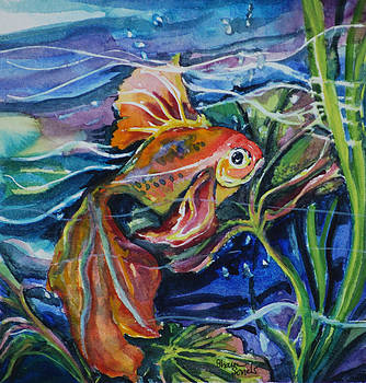 Fanciful Fish by Sharon Sorrels