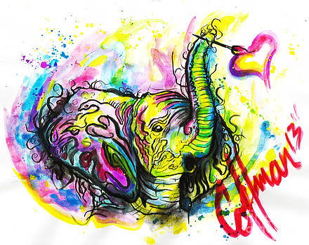 Fancy the Elephant by Justin Coffman