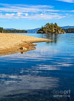 Jamie Pham - Fannette Island on Lake Tahoe.